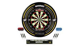 Winmau Blade 5 Dartboard, Xtreme Surround and 2 Darts Sets £58.95 delivered (Selected Areas) @ Argos