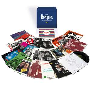 """The Beatles 7"""" Singles Collection Limited Edition Boxset (23 x 7"""" Vinyl Records) + 40-page booklet £112.48 delivered with code @ Zavvi"""