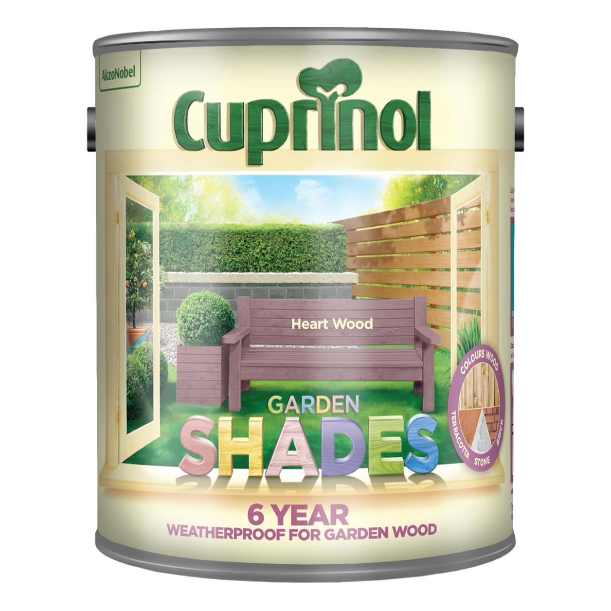 2.5L Cuprinol Garden Shades £16.79 (£6.25 delivery / free over £20) @ Dulux Shop