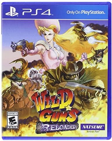 Wild Guns Reloaded (SNES enhanced remaster) £7.99 @ PlayStation