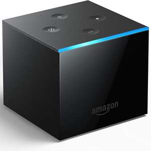Amazon Fire TV Cube - Hands free with Alexa 4K Ultra HD streaming media player £59.99 + £3.95 delivery @ Argos