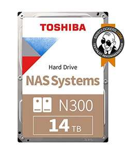 Toshiba N300 14 TB NAS 3.5 Inch SATA Internal Hard Drive £269.98 @ amazon