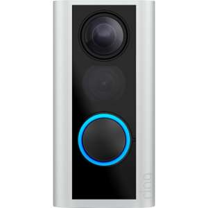 Ring Smart Door View Cam with Built-in Wi-Fi & Camera, Black with Satin Nickel for £89 delivered @ John Lewis & Partners