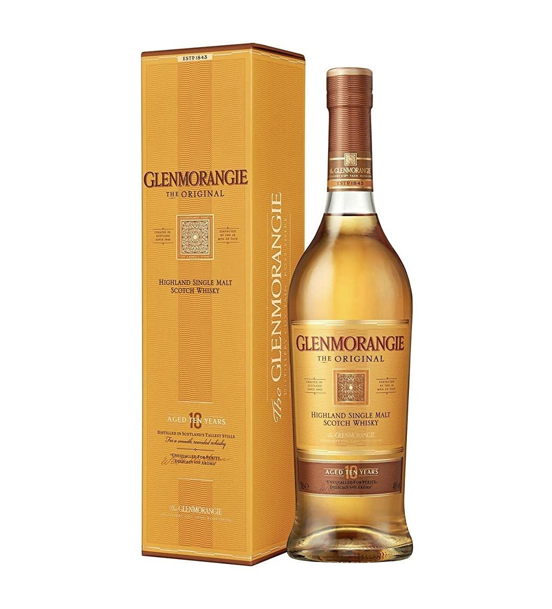 Glenmorangie Highland Single Malt 10yr Scotch Whisky £25 at Amazon