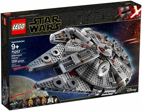 LEGO Star Wars 75257 Millennium Falcon - £107.99 delivered @ Smyths Toys