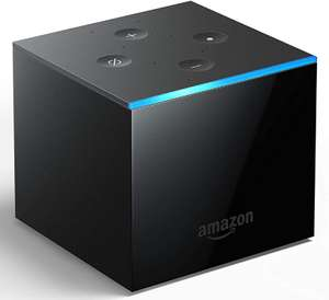 Fire TV Cube Hands free with Alexa 4K Ultra HD streaming media player (+20% off with trade-in) £59.99 UK Mainland Sold by Amazon EU @ Amazon