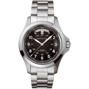 Mens Hamilton Khaki King Automatic Watch H64455133 £395 with code at The Watch Hut