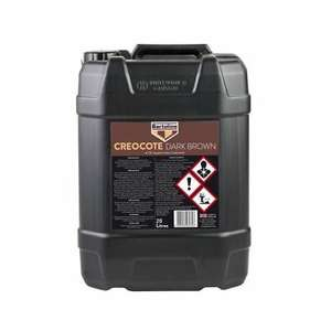 BARTOLINE CREOCOTE 20 LITRE - DARK BROWN Oil Based Timber Treatment - £39 @ ryeoil ebay