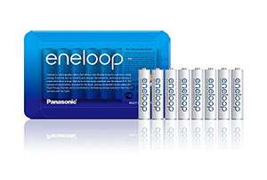 Panasonic eneloop AAA Rechargeable Ready-To-Use Ni-MH Batteries Pack of 8 £12.54 (+£4.49 NP) Delivered (UK Mainland) @ Amazon EU