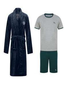 Men's Dressing Gown + Lounge Set for £24.99 delivered From Tokyo Laundry
