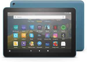 """Fire HD 8 Tablet, 8"""" HD display, Black - with Ads. - 32GB £64.99 