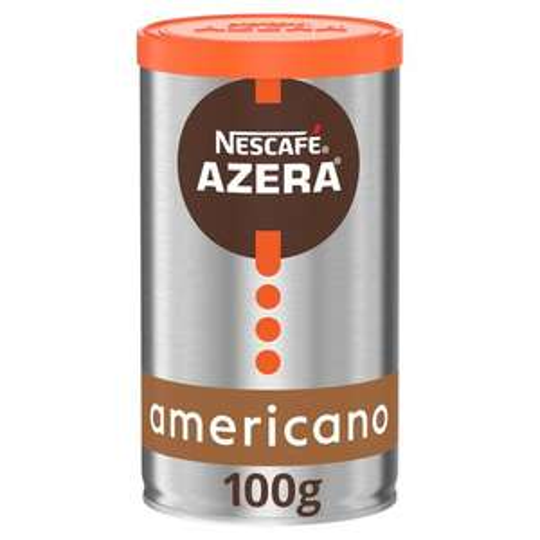 Nescafe Azera Americano Instant Coffee 100G £2.74 (Minimum Basket / Delivery Fee Applies) @ Tesco