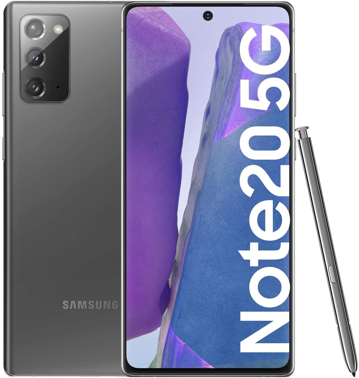 Samsung Galaxy Note 20 5G 256GB Mystic Gray £575.40 (£561 using fee free card) @ Amazon Spain (UK Mainland)