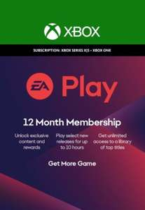 12 Months EA Play (= 4 Months Xbox Game Pass Ultimate) £15.60 / £16.06 with fee + code @ Eneba / MECS