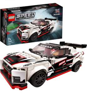 LEGO Speed Champions 76896 Nissan GT-R NISMO Racer Toy / Racing Driver Minifigure £12.68 Prime +£4.49 non Prime at Amazon EU / UK Mainland
