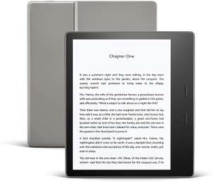 Kindle Oasis | Now with adjustable warm light | Waterproof, 8 GB, Wi-Fi | Graphite - £184.99 @ Amazon