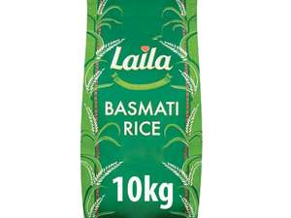 10kg Laila Basmati Rice - £11.50 @ Farmfoods