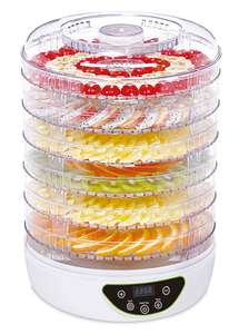electriQ BPA Free Digital Food Dehydrator & Dryer with 6 Collapsible Shelves and 48 Hour Timer £27.96 Delivered @ AppliancesDirect