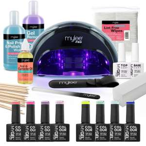 Mylee The Full Works - Gel Nail Polish LED Lamp Kit - £97.49 Sold by Just Beauty UK/Fulfilled by Amazon
