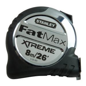 Stanley FatMax 8m/26' Tape Measure £7.19 + £5 del at City Plumbing