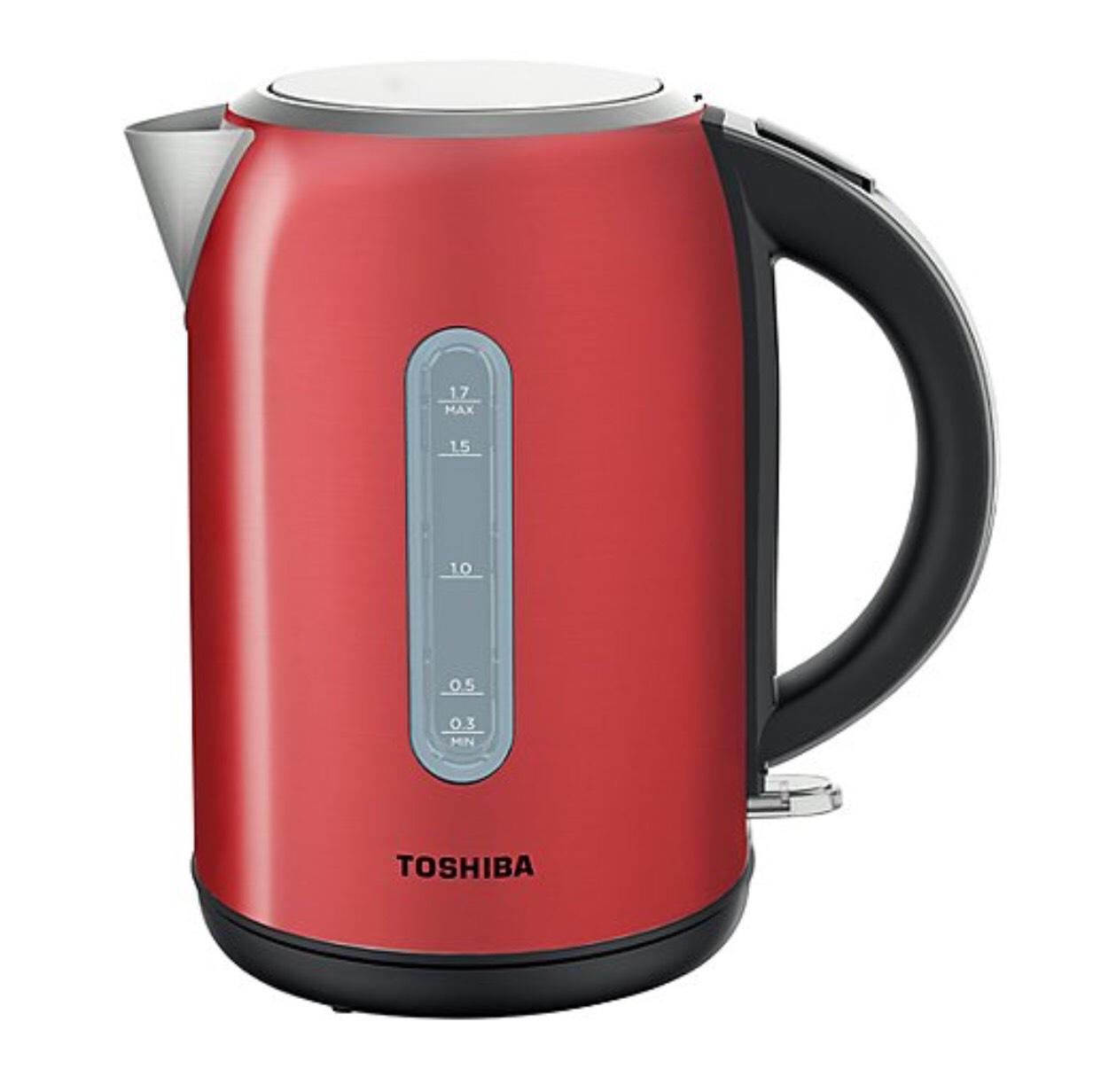Toshiba KT-17SPPUKR Red Fast Boil 1.7L Kettle £16 + £2.95 del at George (Asda George)