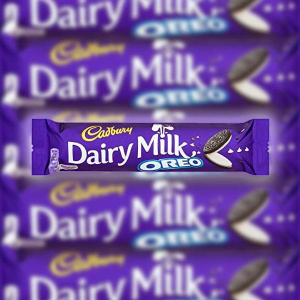 52 x Cadbury Dairy Milk Oreo 41g Bars £13 Best Before 18/06/2021 at Yankee Bundles