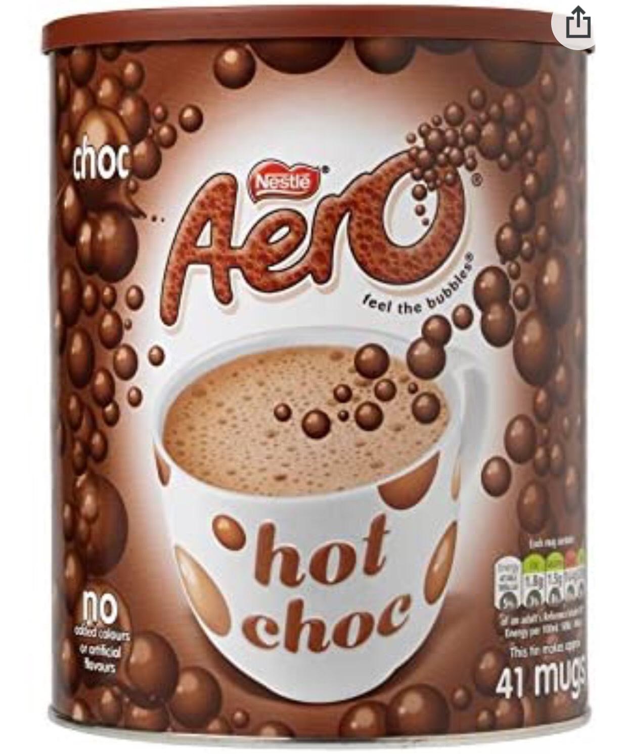 Nestlé Aero Hot Choc 1Kg £6.99 Amazon Prime / £11.48 Non Prime @ Amazon
