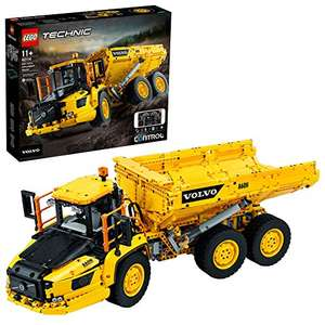 LEGO 42114 Technic 6x6 Volvo Articulated Hauler Truck Toy RC Car Construction Vehicle - £163.99 at Amazon