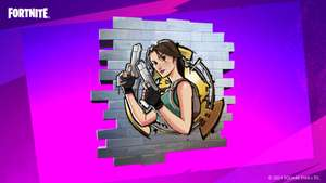 Fortnite (Free) Tomb Raider Spray using code @ Epic Games