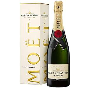 Moët & Chandon Impérial Brut Champagne in Gift Box at £23.49 using voucher @ Amazon
