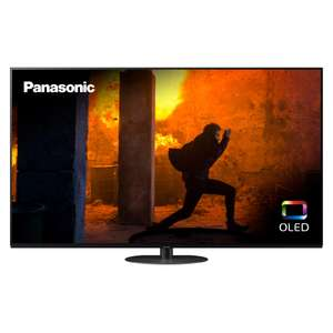 """Panasonic TX-55HZ980B (2020) OLED HDR 4K Ultra HD Smart TV 55"""" with Freeview Play Dolby Atmos 5 Year Guarantee £999 with code at Hughes"""