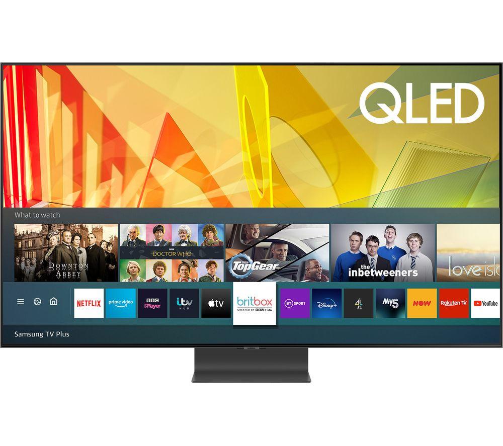 "Samsung QE65Q95TATXXU 65"" HDR 2000 4K HD QLED Smart TV + Free Samsung HW-Q60T 5.1 Channel 360W Soundbar + Free £50 Gift Card £1399 at Hughes"