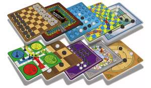 Chad Valley 40 Classic Board Games Bumper Set £5.32 + £3.95 Delivery From Argos