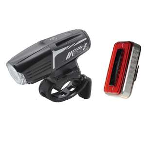 Moon Meteor-X Pro (Front) and Arcturus Pro (Rear) Bike Lights for £34.99 delivered @ Rutland Cycling