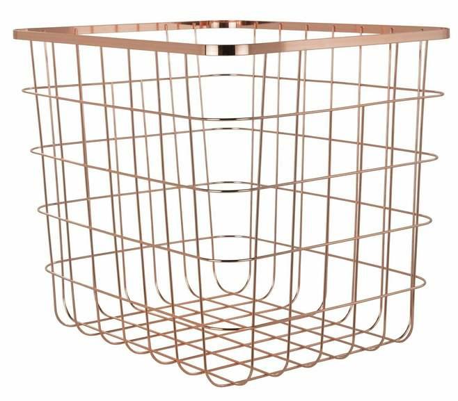 Habitat Flat Wire Squares Plus Storage Baskets ( Size H32.5, W36.6, D32cm ) Black £5.00 / Rose Gold - £6.67 / £10.62 Delivered @ Argos.