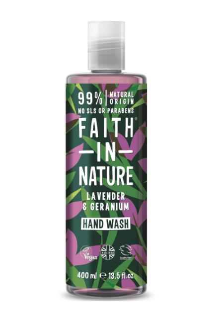 Faith in Nature lavender and geranium hand wash, 400ml £1.13 @ Tesco Kidlington