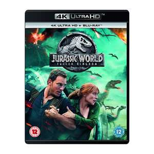 Jurassic World: Fallen Kingdom 4KUHD Blu-ray Digital Download - £4.91 delivered at 365Games