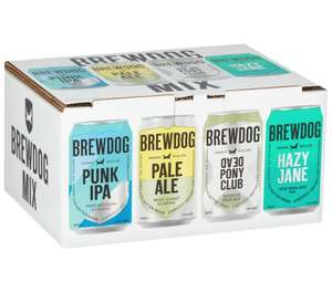 Brewdog 12 can pack - hazy Jane / dead pony club / pale ale / punk ipa - now £8 @ Morrisons Hyde