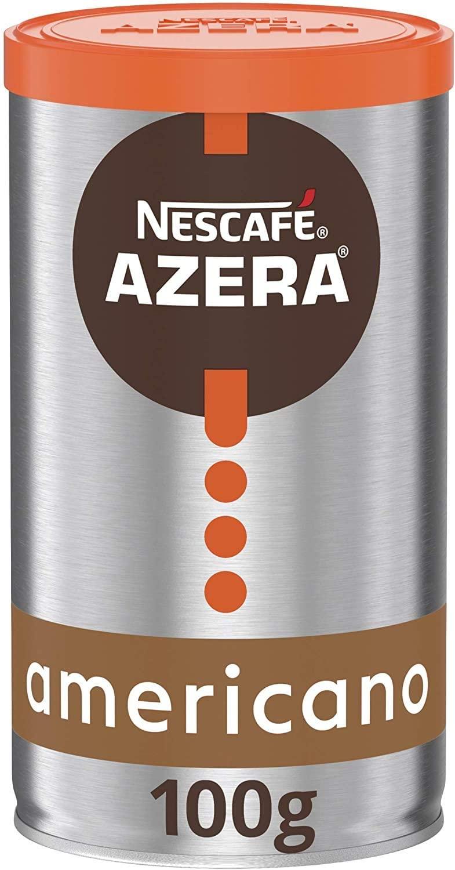 NESCAFÉ AZERA Americano Instant Coffee Tin 100g - £2.50 Prime (+£4.49 Non Prime) @ Amazon