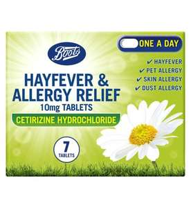 2 for £8 Boots Hayfever tablets e.g Boots Hayfever & Allergy Relief 10mg Tablets (30 Tablets) £11.50 delivered @ Boots