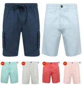 Selected Men's Shorts £8. with code + £1.99 Delivery From Tokyo Laundry