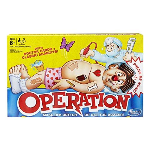 Hasbro Operation board game £12.03 prime / £16.52 non prime @ Amazon