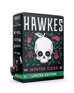 Hawkes Winter Cider 3L for £9.95 + £6.95 P&P @ Brewdog (UK Mainland only)