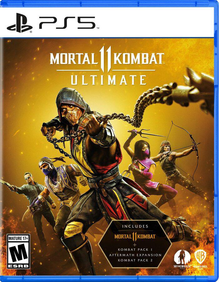 Mortal Kombat 11 Ultimate Edition [PS4 / PS5] £23.33 using code @ Eneba / GamStop
