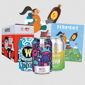10 Free Beers, magazine and snack pay £5.95 for next day delivery and cancel subscription @ Beer52