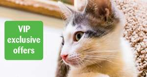 50% off everything in store via VIP Pets at Home App (Selected Accounts) @ Pets At Home