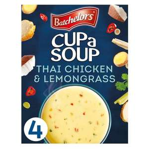 Free Batchelors Cup-a-Soup with code - choice of four new flavours (+ Delivery Charge / Minimum Spend Applies) @ Tesco