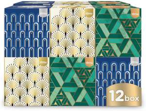 Kleenex Collection Cube - 12 Boxes (56 Tissues Per Box, 672 Tissues Total) - £12 (£4.49 non Prime) 25% voucher and 10% S&S £7.80 @ Amazon