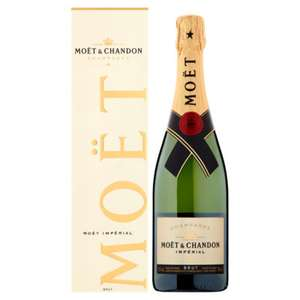 Moët & Chandon Impérial Brut Champagne in Gift Box £21.75 25% off 6 bottles (+ Delivery Charge / Minimum Spend Applies) at Asda
