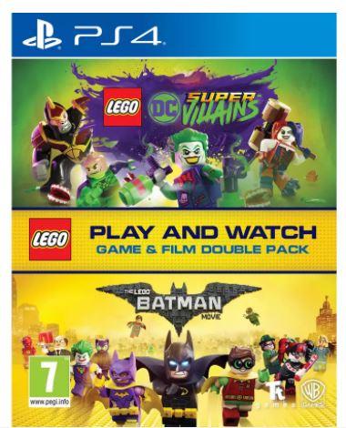 LEGO DC Villains PS4 Game & LEGO Batman Movie Double Pack £9.99 + £3.95 del at Argos